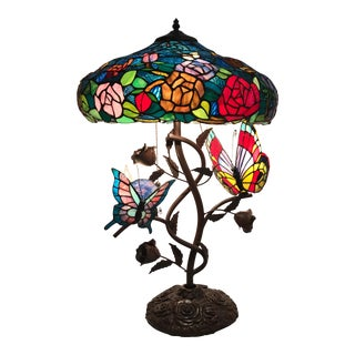 Tiffany Style Lamp For Sale