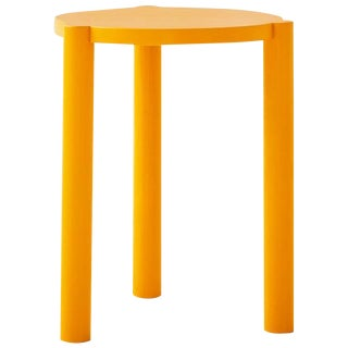 Wc3 Stool by Ash Nyc in Yellow For Sale