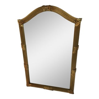 Gold Frame Bow Mirror For Sale