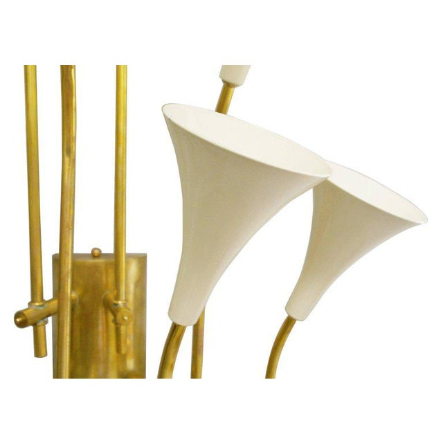 Two Pairs of Trumpets Sconces by Fabio Ltd For Sale In Palm Springs - Image 6 of 10