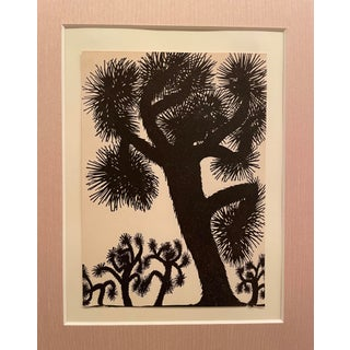 """1948 """"Dancing Cactus"""" Print by Don Blanding, Framed For Sale"""