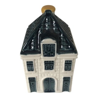 Delft K L M Miniature Blue House For Sale