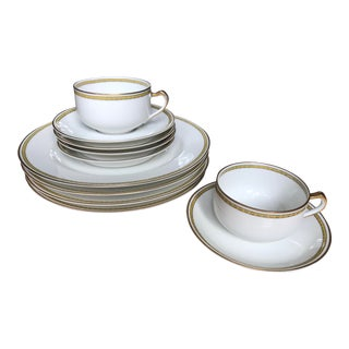 Limoges Art Deco Bone China Dinnerware For Sale