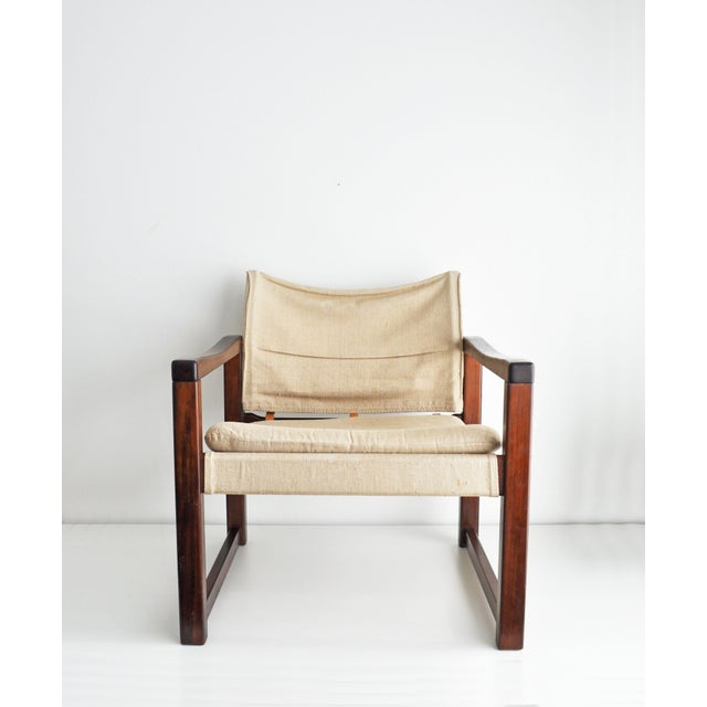 Vintage Safari Style Lounge Chair - Image 2 of 9