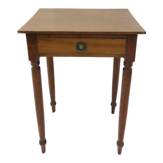 Antique Early American Side Table For Sale