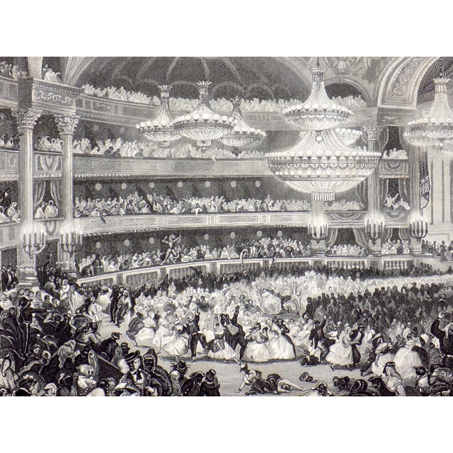 """The Opera House in Paris"" 1855 Engraving - Image 3 of 6"