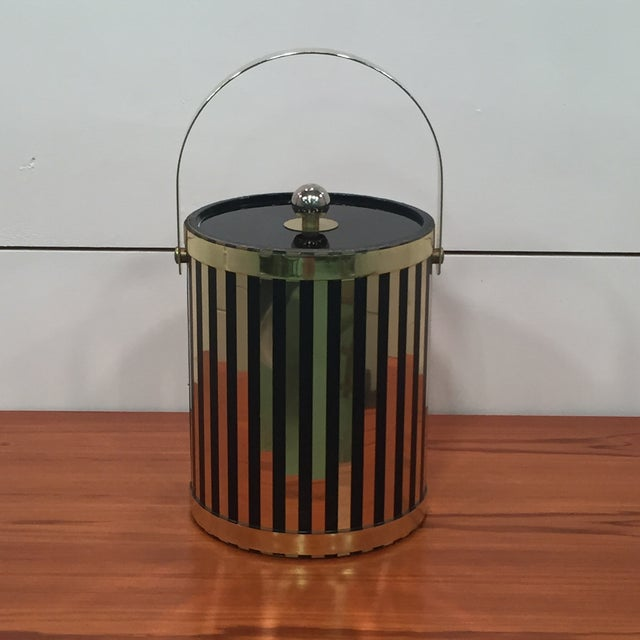 Mid Century Modern Ice Bucket - Image 3 of 7