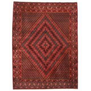 RugsinDallas Persian Afshar Rug - 5′6″ × 7′4″ For Sale