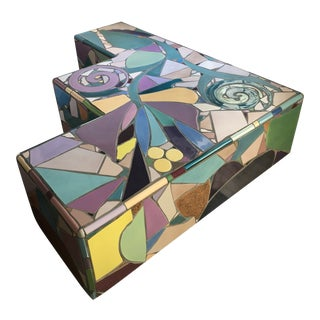 Mosaic Coffee Table by Steve Chase For Sale