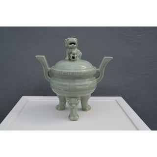 Vintage Chinese Incense Burner Preview
