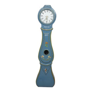 Antique Swedish Blue Mora Clock