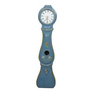 Antique Swedish Blue Mora Clock