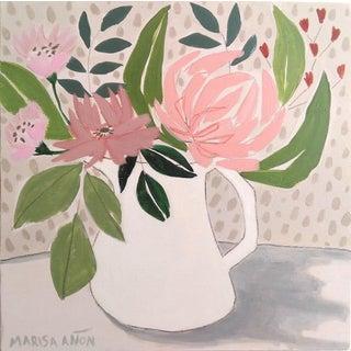April Florals 4 Original Painting by Marisa Añón. For Sale