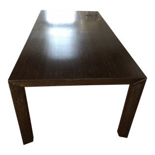 Baker Furniture Parsons Dining Table For Sale