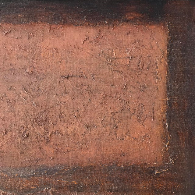 Stanley Bate Stanley Bate, Untitled Painting, Circa 1960 For Sale - Image 4 of 10