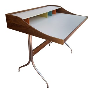 1990s Mid-Century Modern George Nelson for Herman Miller Nelson™ Swag Leg Writing Desk For Sale