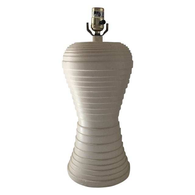 Modern Pleated Lamp - Image 1 of 7