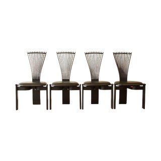 Scandinavian Modern Totem Chairs by Torstein Nilsen - 4 For Sale