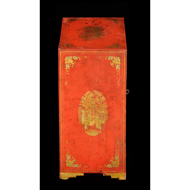 Chinese Antique Chinese Export Miniature Cabinet, Circa 1850 For Sale - Image 3 of 9