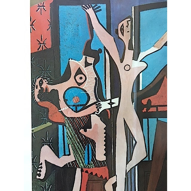 Vintage Picasso Exhibition Poster - Three Dancers - Image 5 of 6