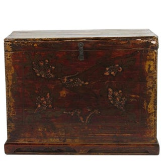 Embossed Phoenix Gansu Trunk
