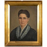 Image of Oil on Canvas 19th Century Denmark For Sale