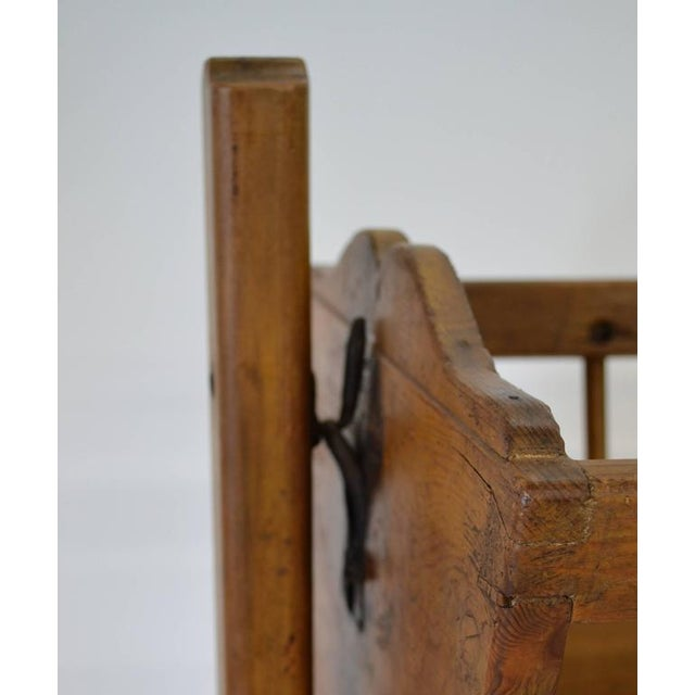 Late 19th Century Pine Rocking Cradle For Sale - Image 5 of 7
