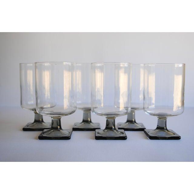 Mid-Century Modern Glasses - Set of 6 - Image 3 of 4