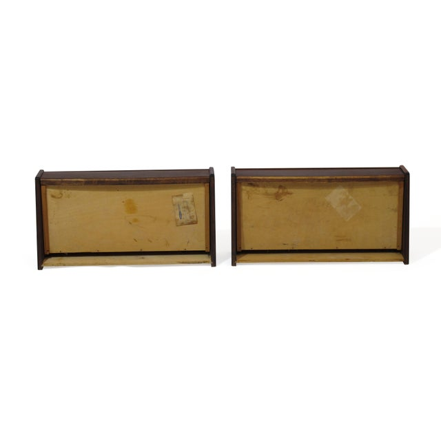 Wood Pair of Floating Danish Rosewood Tables With Drawers For Sale - Image 7 of 9