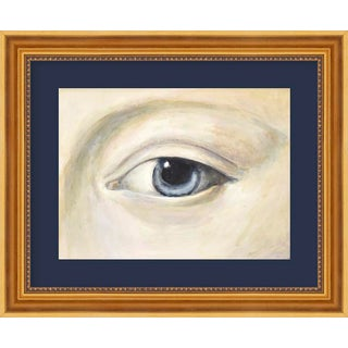 "Small ""Lover's Eye 4 With Charcoal"" Print by Susannah Carson, 12"" X 10"" For Sale"