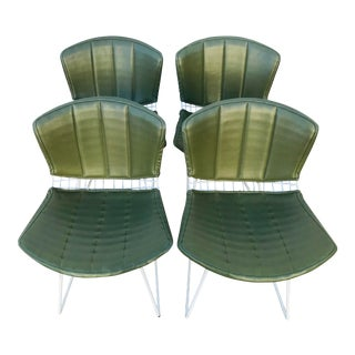 1960s Vintage Bertoia Side Chairs- Set of 4 For Sale