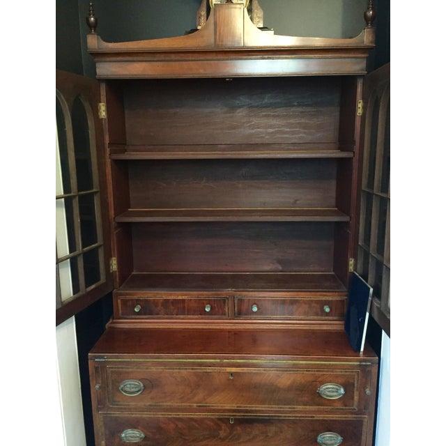 Federal Mahogany Secretary Bookcase - Image 5 of 5