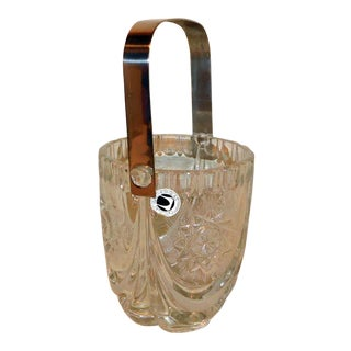 Waltherglas Crystal Ice Bucket For Sale