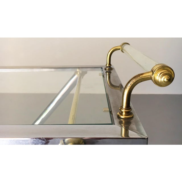 Gold Vintage Maison Jansen Tray Table For Sale - Image 8 of 13