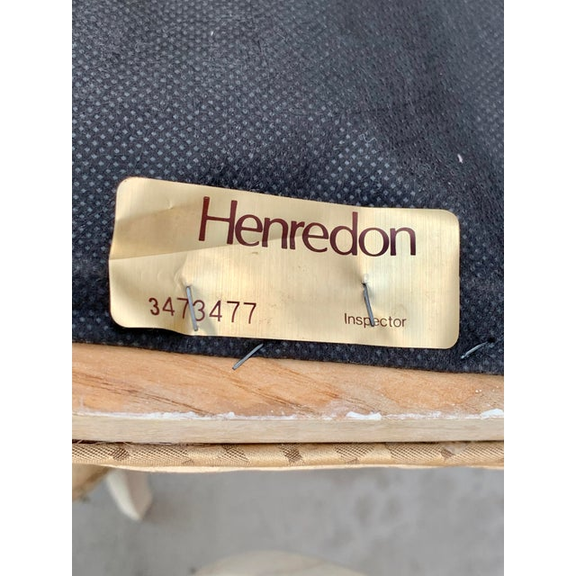 1990's Henredon Side Chairs - Set of 2 For Sale - Image 12 of 13