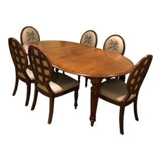 Tommy Bahama Expandable Dining Set For Sale
