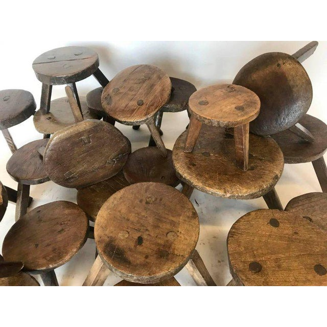 19th Century Milking Stools For Sale - Image 4 of 7