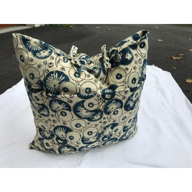 Folk Art Les Indiennes Pillow Cover For Sale In New York - Image 6 of 6