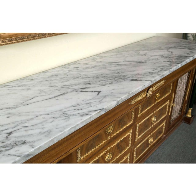 Bronze Palatial Empire-Style Sideboard For Sale - Image 7 of 11