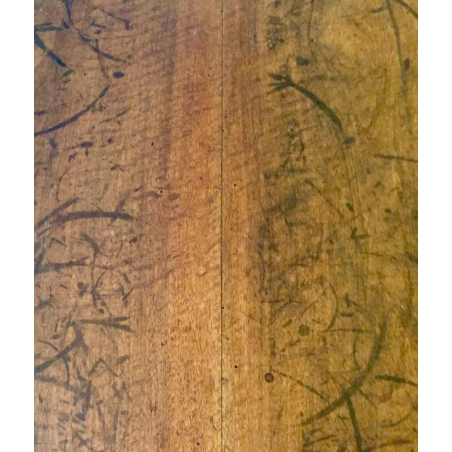 Antique Hand Hewn Mahogany Table For Sale - Image 11 of 12