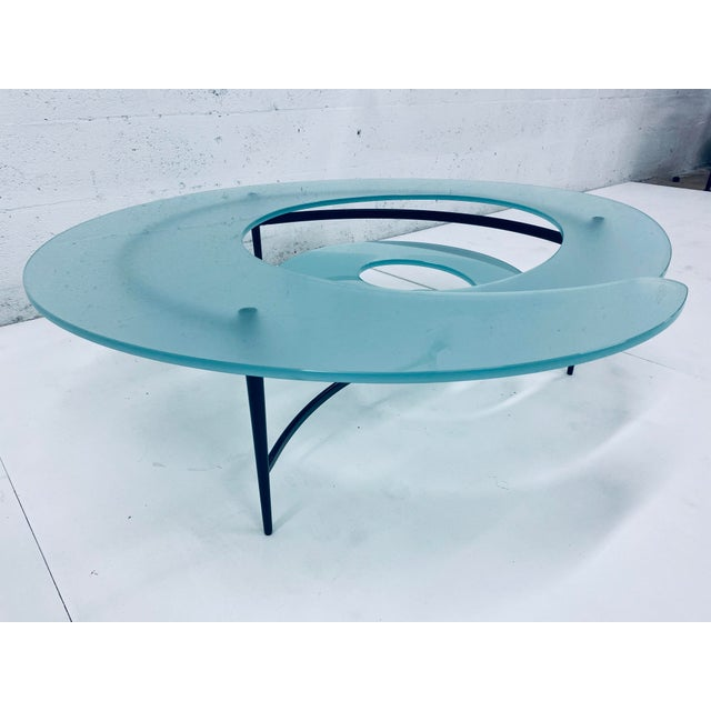 """Contemporary Giorgio Cattelan """"Spiral"""" Coffee Table for Cattelan Italia For Sale - Image 3 of 13"""