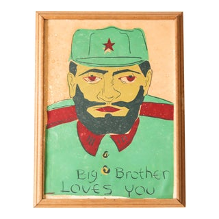 Che Guevara Silkscreen Print, Unsigned For Sale
