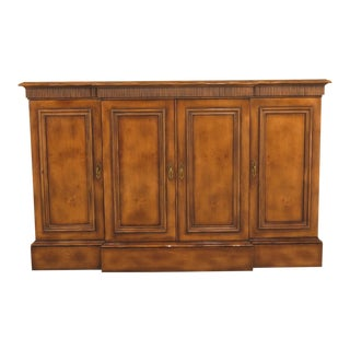 Baker 4 Door Large Continental Style Credenza Buffet For Sale
