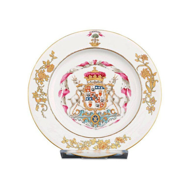 Exceptional in both craftsmanship and provenance, this outstanding porcelain service boasts a prestigious lineage. Crafted...