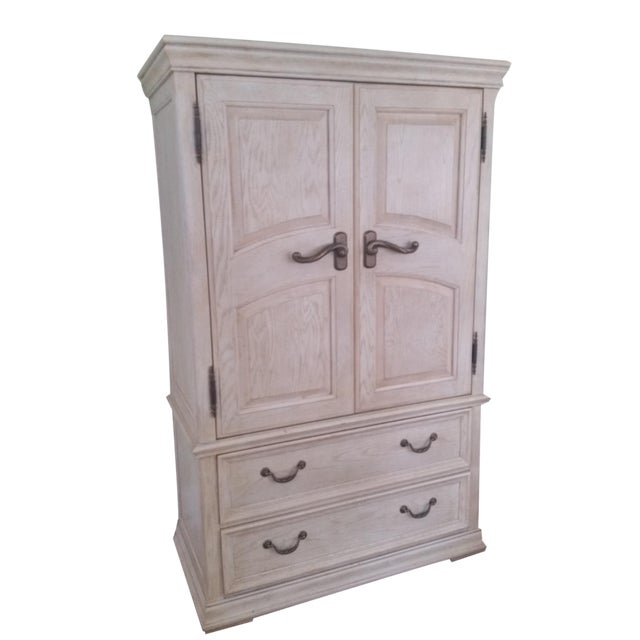 Shabby Chic Henredon Armoire - Image 1 of 3