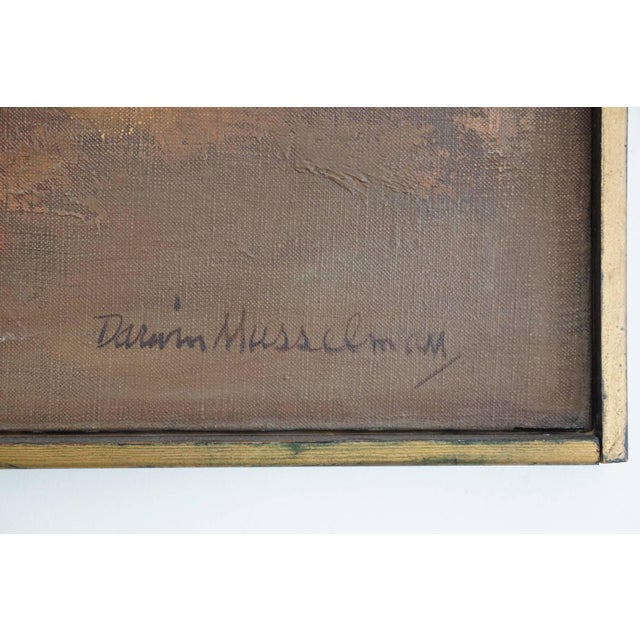 1960s Oil Painting by Darwin Musselman For Sale In Los Angeles - Image 6 of 6