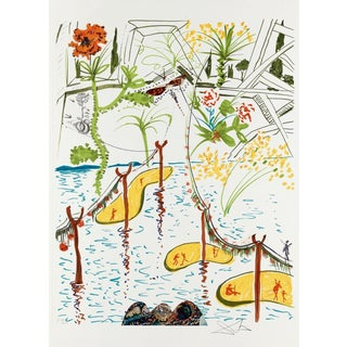 Salvador Dalí­ Biological Garden (Imagination & Objects of the Future Portfolio) 1975 For Sale