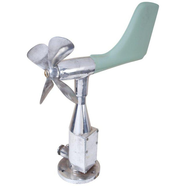 Metal Mid-Century Modern Ship's Aerovane and Anemometer For Sale - Image 7 of 7