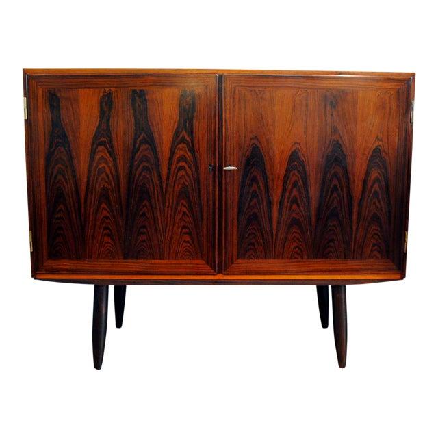 Danish Modern Rosewood 2 Door Cabinet - Image 1 of 10