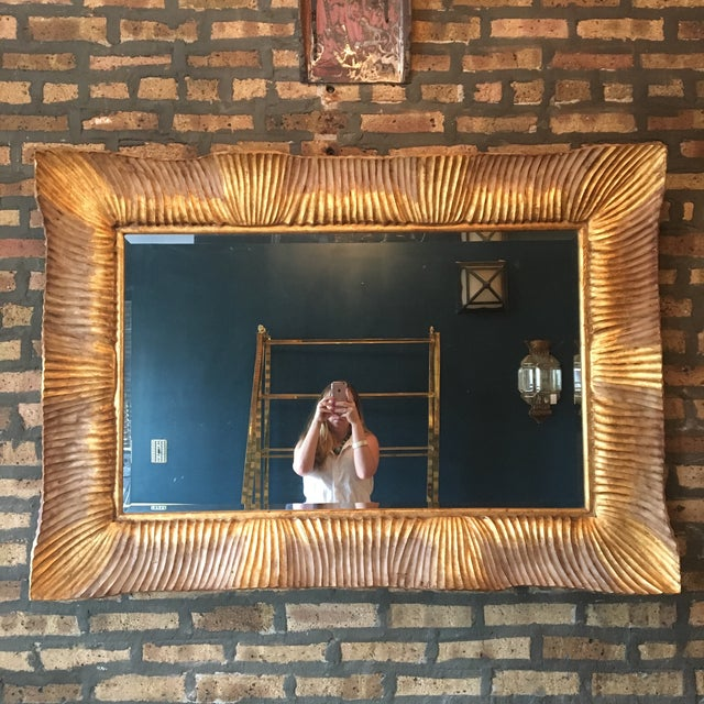 Fantastic Italian Gilded Mirror, 3' X 4' - Image 2 of 8